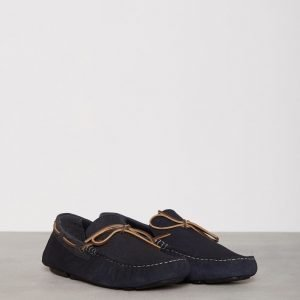 River Island Tommi Mixed Driver Loaferit Navy