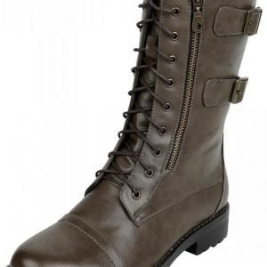 Rock Rebel by EMP High Lace-Up Boot Varsikengät