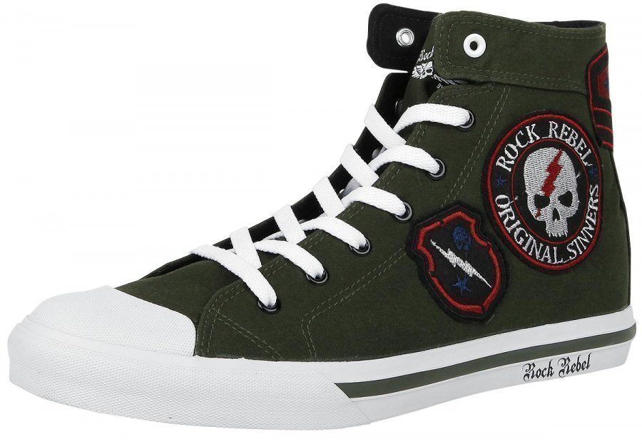 Rock Rebel by EMP Patch Sneaker Varsitennarit