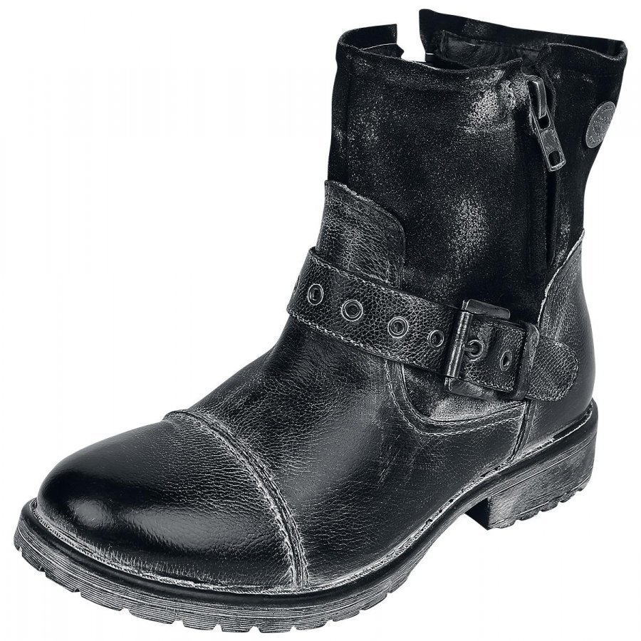 Rock Rebel by EMP Strapped Ladies Boot Varsikengät
