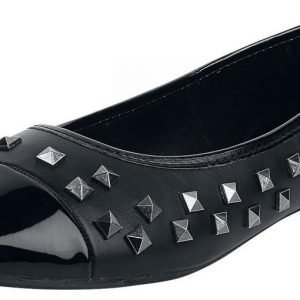 Rock Rebel by EMP Studded Flats Ballerinat