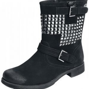 Rock Rebel by EMP Studded Vintage Boots Varsikengät