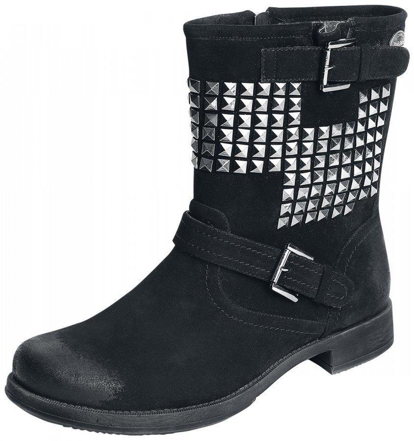 Rock Rebel by EMP Studded Vintage Boots Varsikengät