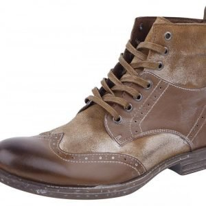 Rock Rebel by EMP Vintage Lace-Up Boots Varsikengät