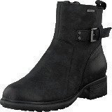 Rockport First Gore Bootie Black Waxy Pull Wp Wl
