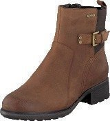 Rockport First Gore Bootie Chestnut Waxy Pull Wp Wl