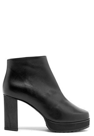 Rodebjer Lyanifa Ancle Boot Black Leather