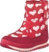 Rubber Duck Classic SnowJoggers Heart Print/Fiery Red
