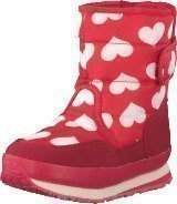 Rubber Duck Classic SnowJoggers Nylon Print Heart Print/Fiery Red