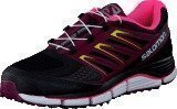 Salomon X-Wind Pro W Black/Bordeaux/Fluo Pink