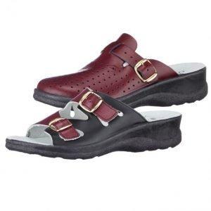 Sandaalit Ja Pistokkaat Viininpunainen / Musta