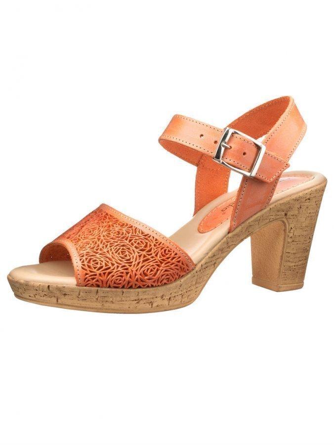 Sandaletit Aprikoosi