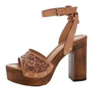 Sandaletit Konjakki