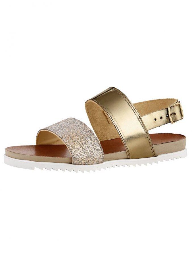 Sandaletit Kullanvärinen