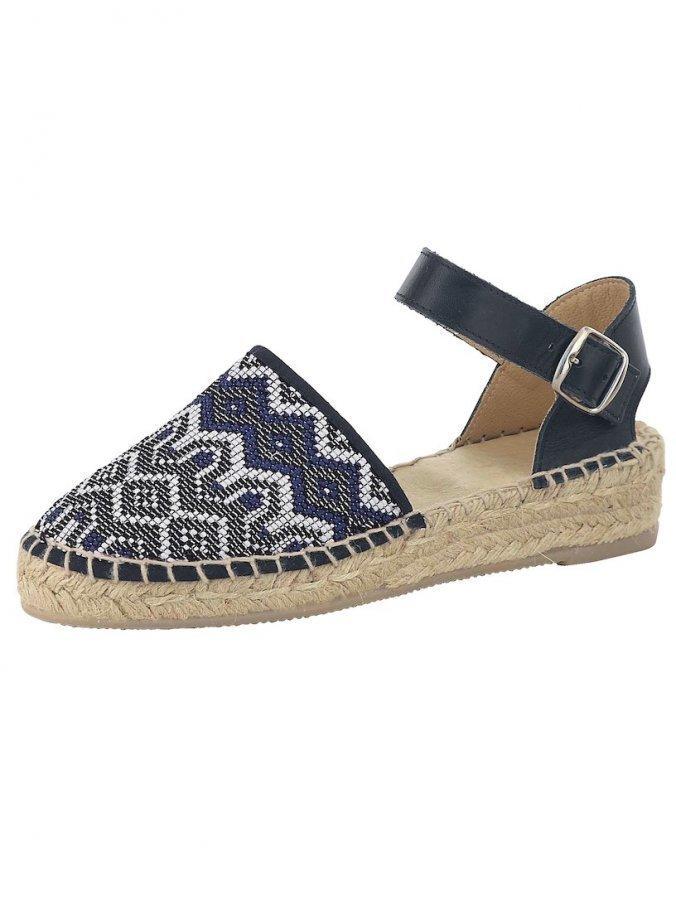 Sandaletit Laivastonsininen / Valkoinen