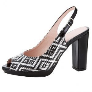 Sandaletit Musta / Hopeanvärinen