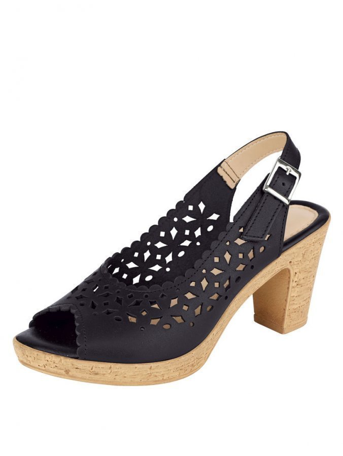 Sandaletit Musta