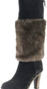 Scholl Fur boot