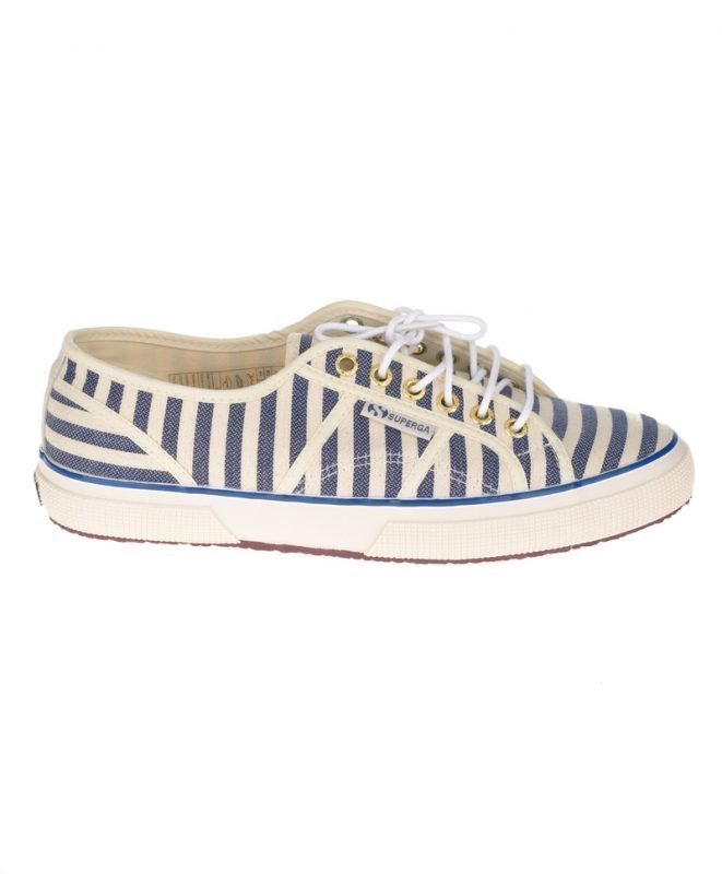 Scotch & Soda Superga VS Scotch & Soda Sneaker Dessin A Striped