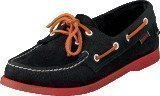 Sebago Dockside Blue/Orange