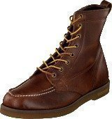 Sebago Fairhaven Boot Brown oiled waxy