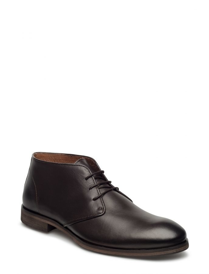 Selected Homme Shdbolton Leather Chukka Boot