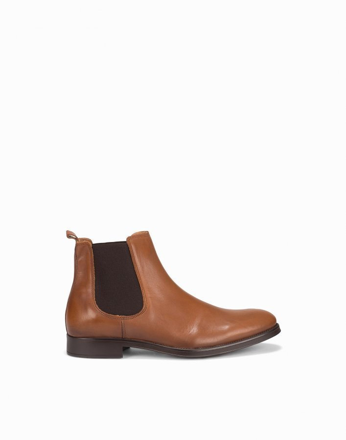 Selected Homme Shdoliver Chelsea Boot Noos Chelsea-saappaat Vaaleanruskea