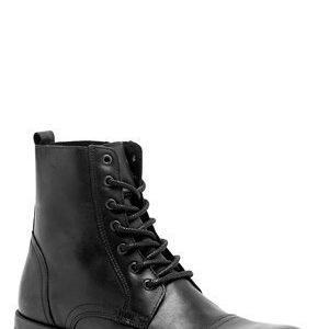 Selected Homme Shi Taylor Leather Boots Black