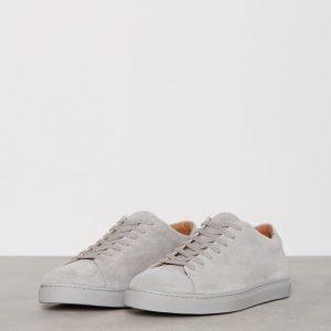 Selected Homme Shndavid New Suede Sneaker Tennarit Harmaa