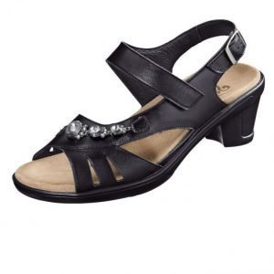 Semler Sandaalit Musta
