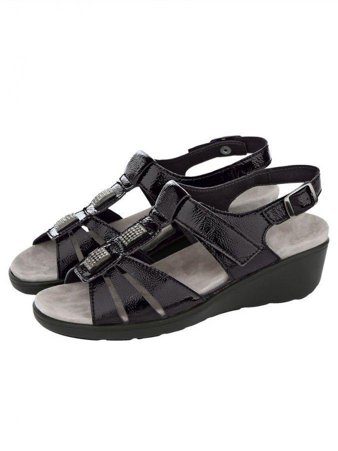 Semler Sandaletit Musta