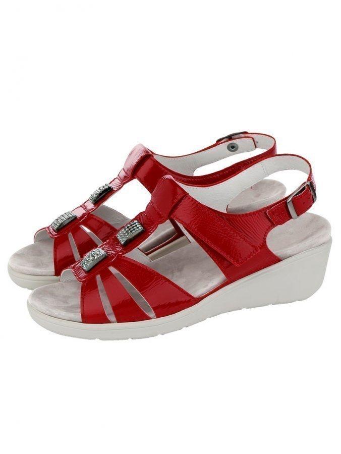 Semler Sandaletit Punainen