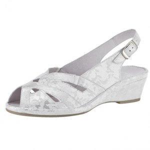 Semler Sandaletit Valkoinen / Hopeanvärinen