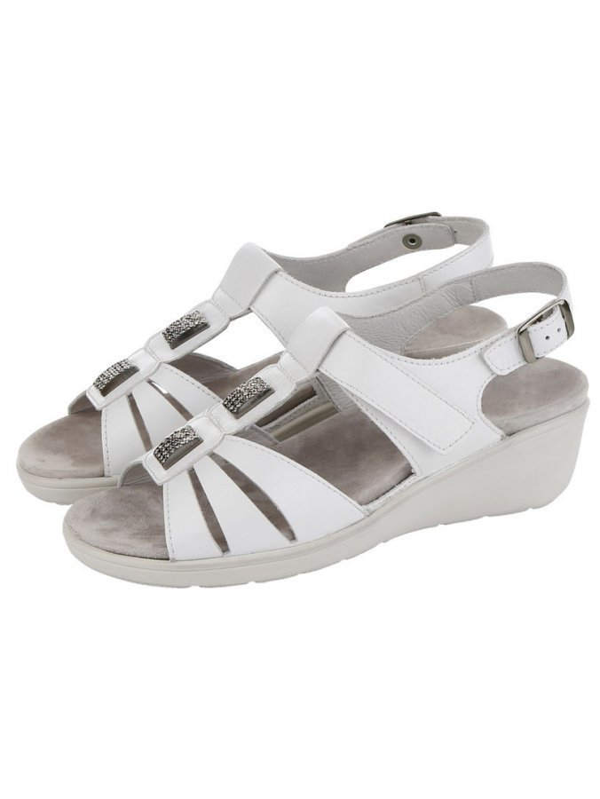 Semler Sandaletit Valkoinen