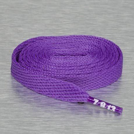 Seven Nine 13 Kengännauhat Purpuranpunainen