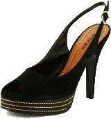 Shoe Biz Camurca Sandal Black Black