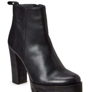 Shoebiz Boot With Plateau High Heel