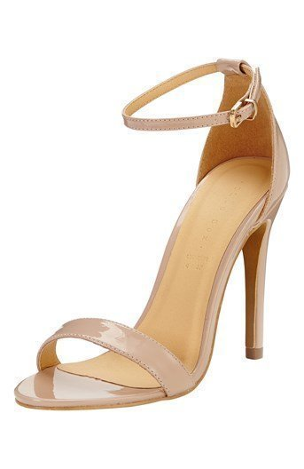 Shoebox Sandaletit Vaaleanbeige