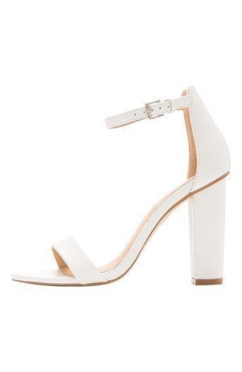Shoebox Sandaletit Valkoinen