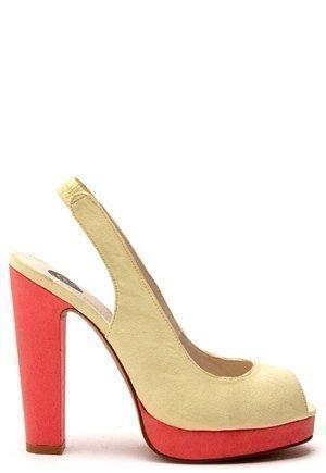 Shoes By Teddy Draper Keltainen