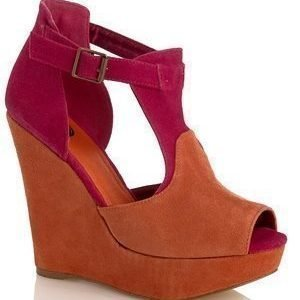 Shoes By Teddy Greta Shoes Orange Pink