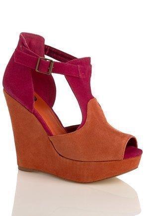 Shoes By Teddy Greta Shoes Orange Pink