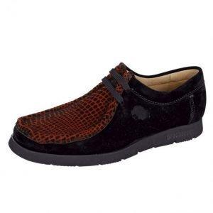 Sioux Loaferit Musta / Punainen