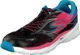 Skechers Go Run 4 Ride Black/coral