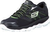 Skechers Gorun Ultra Black/white/lime