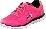 Skechers Love your style Hot pink/black
