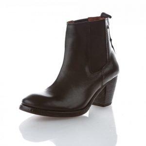 Sneaky Steve Wing Chelsea Boots Bootsit Musta
