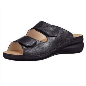 Solidus Sandaalit Antrasiitti