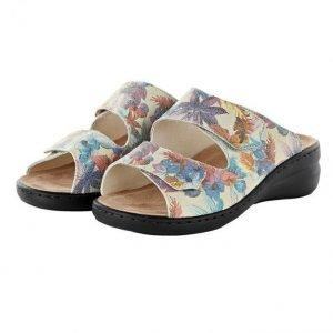 Solidus Sandaalit Kukkakuvioitu