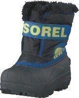 Sorel Children's Snow Commander 011 Black Super Blue